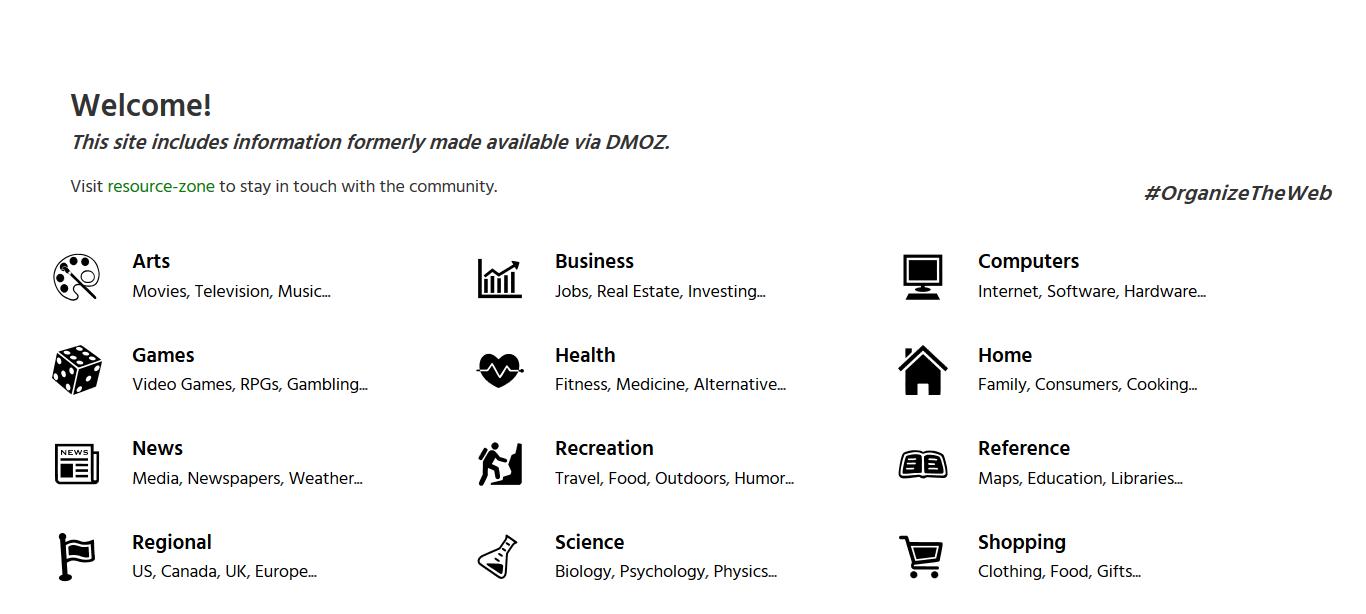 Katalog DMOZ